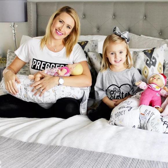 Tops - Preggers graphic print maternity T-shirt